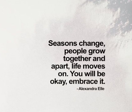 26 Quotes about Growing Apart and Moving On - EnkiQuotes