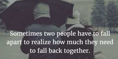 Getting Back Together Quotes To Offer You Friendly Reminder Enkiquotes