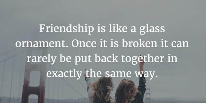 Quotes About Losing Friendship Pleasing Quotes About Losing Friends And How To Cope With It  Enkiquotes