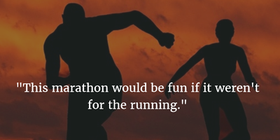 24 Funny Quotes about Running - EnkiQuotes