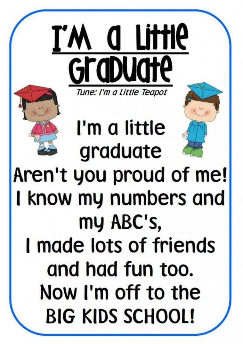 Preschool Teacher Quotes 22 Inspirational Preschool Graduation Quotes  Enkiquotes