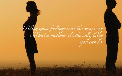 24 Enlightening Quotes about Hiding Emotions - EnkiQuotes