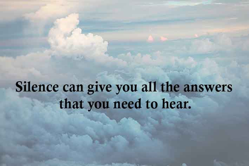 Peaceful Quotes 25 Peaceful Quotes About Silent  Enkiquotes