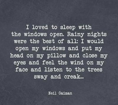 Quotes on rainy night