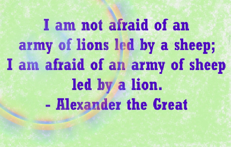 Make Quotes Unique Alexander The Great Quotes To Make You Think Deep  Enkiquotes
