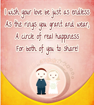 Wedding Wishes Quotes For The Newlyweds EnkiQuotes Awesome Marriage Wishes Quotes