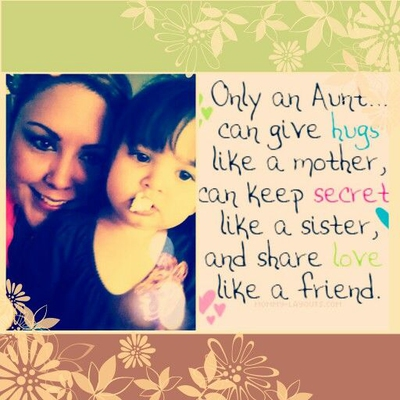 Aunt Quotes From Niece Enchanting Feel The Happiness To Be An Aunt With Quotes About Nieces EnkiQuotes