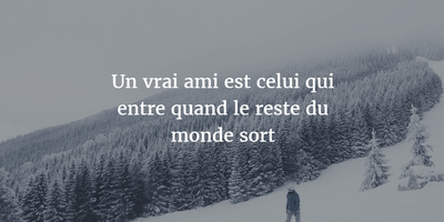 Memorable French Quotes About Friendship Enkiquotes