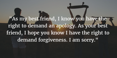 Make An Apology Read 25 Sorry Quotes For Friends Enkiquotes