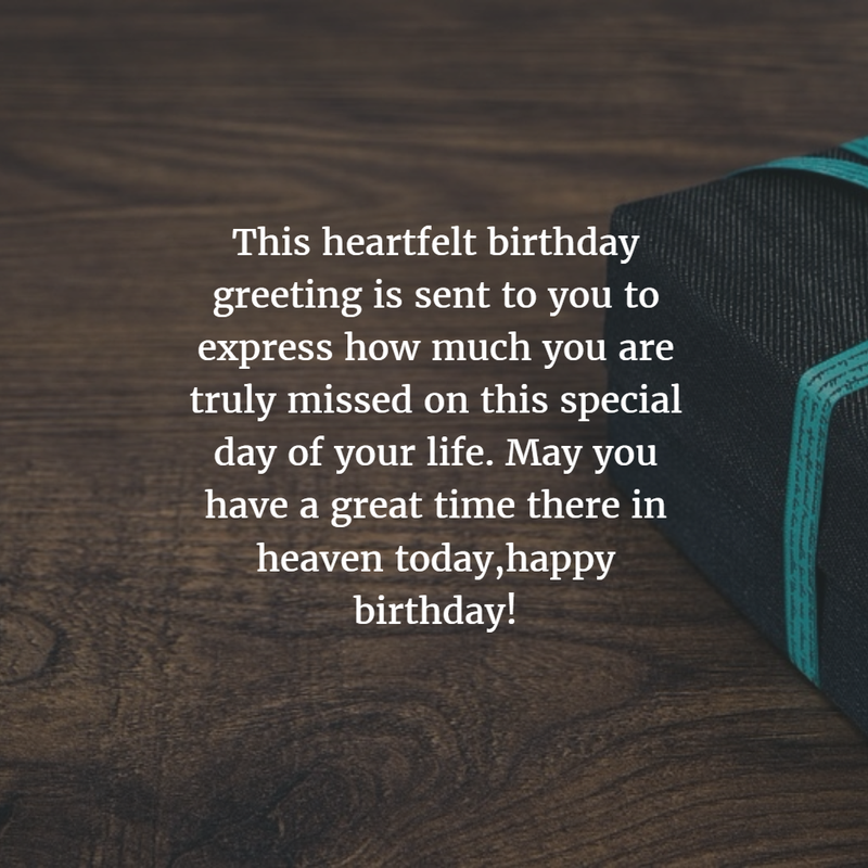 30 Sweet Birthday Quotes For Dead Husband Enkiquotes Happy Birthday Wishes For In Heaven