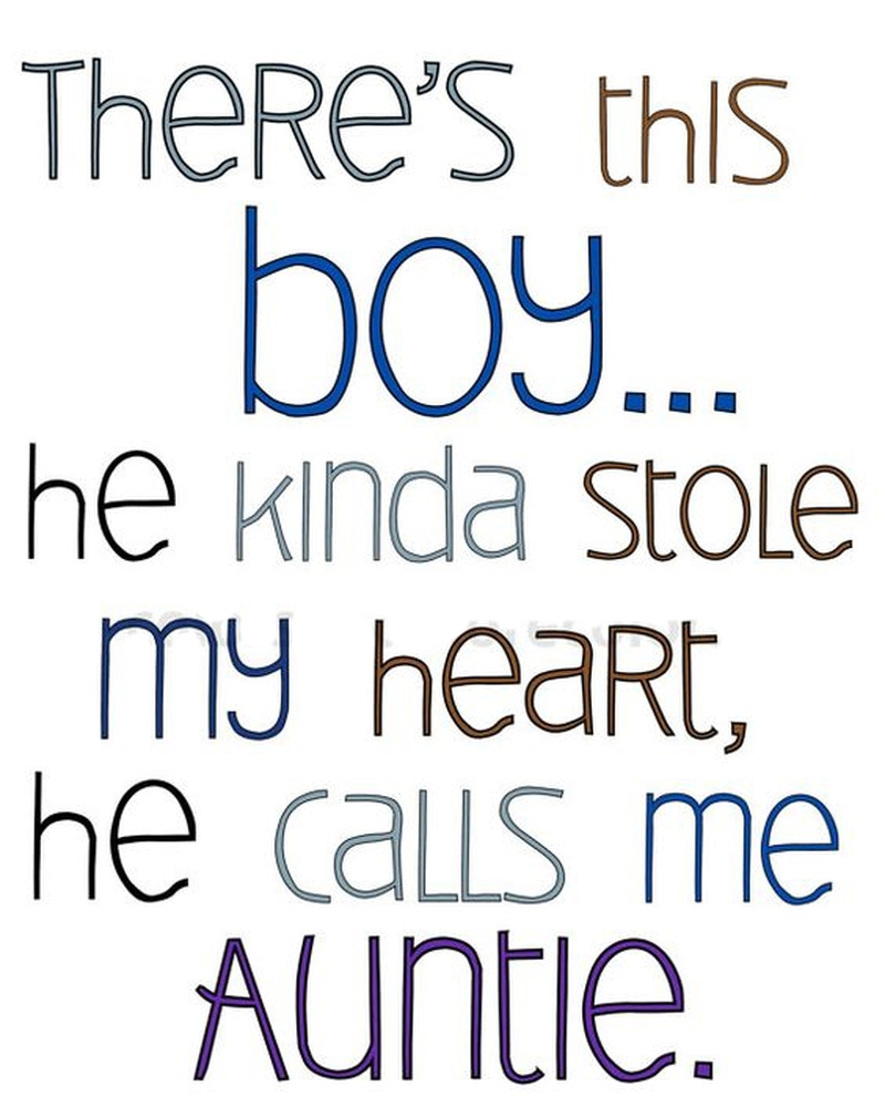 I Love My Nephew Quotes And Sayings 29 Best Being An Aunt Quotes  Enkiquotes
