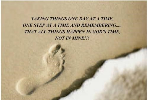 26 Inspirational One Step At A Time Quotes Enkiquotes