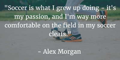 25 alex morgan quotes on soccer and life enkiquotes passion is the greatest motivation voltagebd Choice Image