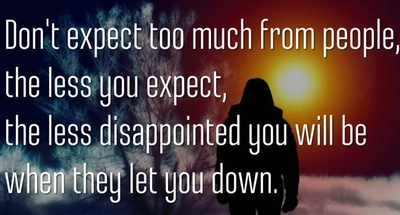 30 Best Quotes About People Letting You Down Enkiquotes