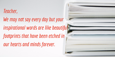 Show Your Appreciation With These Thank You Quotes For Teachers