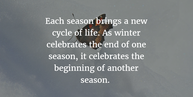Seasons Of Life Quotes Interesting Quotes About Seasons Circle Of Life  Enkiquotes