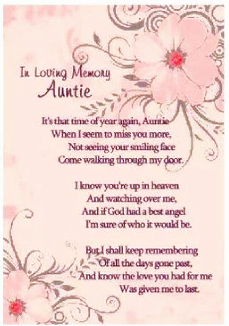 Missing My Mom In Heaven Quotes 21 Quotes About Aunt Passing Away You Can Relate To  Enkiquotes