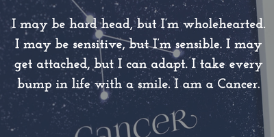 Cancer Zodiac Quotes and Sayings to Help You Know Them ...