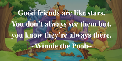 Thought Provoking Quotes About Friendship From Disney Movies