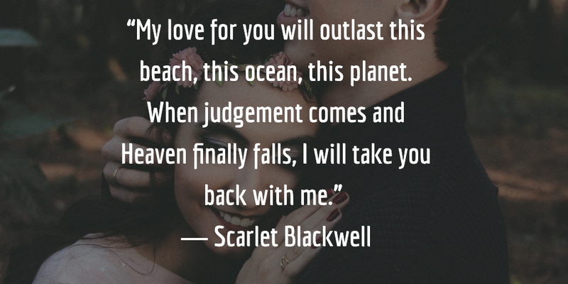 Love Is Eternal Quotes New 28 Most Romantic Quotes About Eternal Love  Enkiquotes