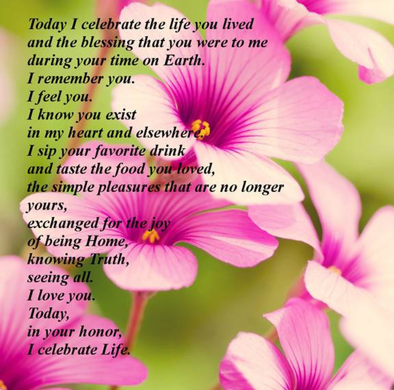 Quotes For Departed Loved Ones: 20 Memorable Deceased Loved Ones Birthday Quotes