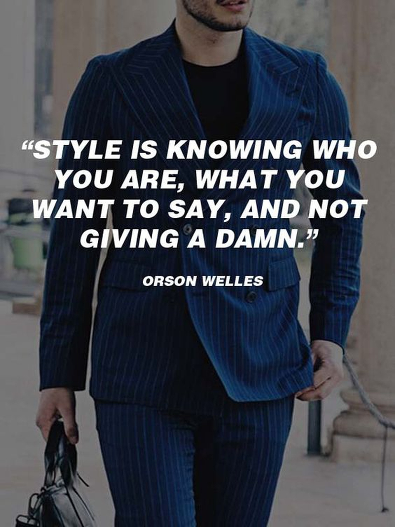 Classic Quotes 26 Classic Quotes About Men's Style  Enkiquotes