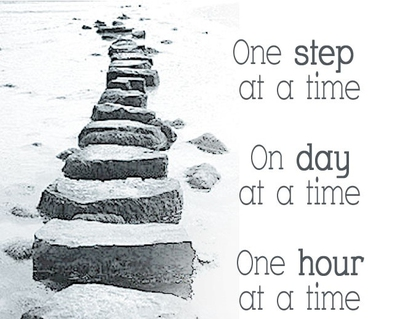 One Step At A Time Quotes Daily Quotes