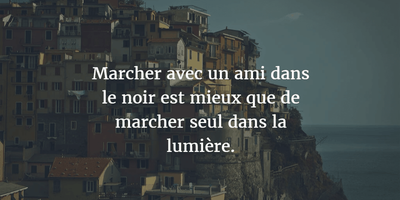 French Quotes About Friendship Impressive Memorable French Quotes About Friendship  Enkiquotes