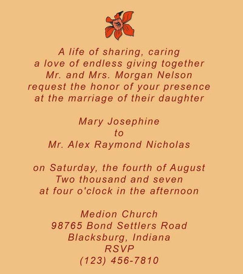 25 Romantic Wedding Invitation Quotes to Write on Your Wedding