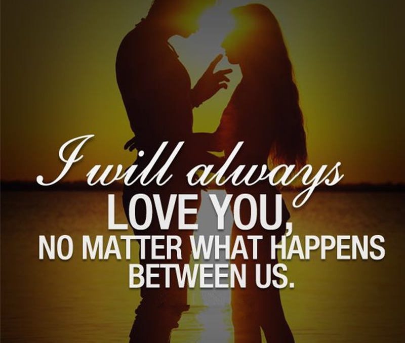 I Will Always Love You Quotes Enchanting 25 Most Romantic I Will Always Love You Quotes  Enkiquotes