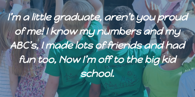 Top 25 Kindergarten Graduation Quotes - EnkiQuotes
