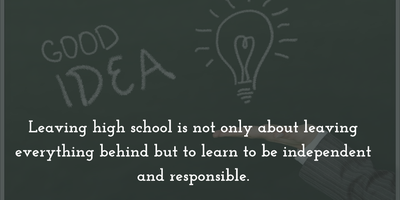 23 Touching And Inspiring Quotes On Leaving School Enkiquotes