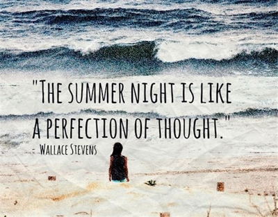 24 Most Beautiful Summer Night Quotes Enkiquotes