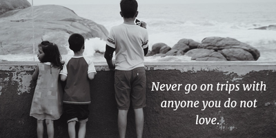 25 Heart Touching Quotes About Family Trip Enkiquotes
