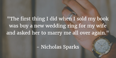 Story of a Marriage: Wedding Ring Quotes - EnkiQuotes