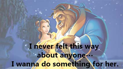 25 Romantic Quotes From Beauty And The Beast Enkiquotes