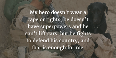 Top 20 Strong Military Wife Quotes to Husband - EnkiQuotes