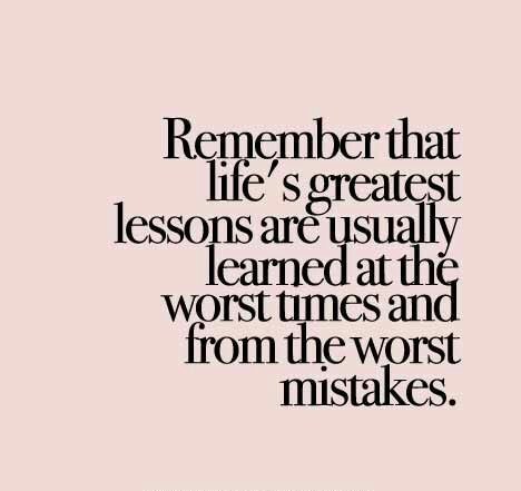 Quotes On Learning Alluring Be A Better You With These Learning From Mistakes Quotes  Enkiquotes