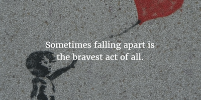 Quotes About Falling Apart – Accept the Rule of Life ...