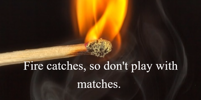 25 Best Quotes About Matches Enkiquotes