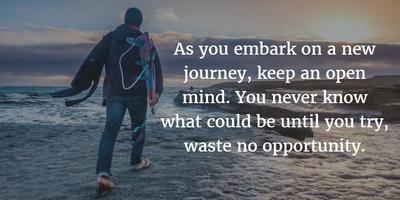 New Sceneries and New Attitudes: New Journey Quotes - EnkiQuotes