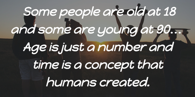 Age Is Just A Number Quote For All Ages Enkiquotes
