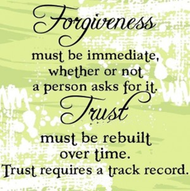 Quotes On Trust Awesome Quotes About Forgiveness And Trust To Soothe Your Aching Soul