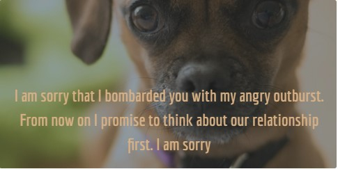 20 Sincere and Touching Sorry for Being Selfish Quotes - EnkiQuotes