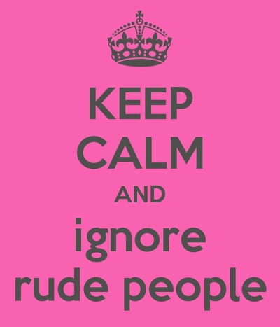 To rude quotes being others about QUOTES AND