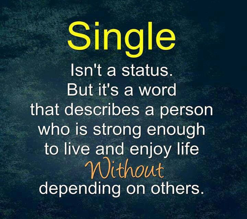 Single Quotes Extraordinary Be Proud Of Your Single Status With These Quotes About Being