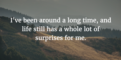 25 Quotes On Surprises In Life Enkiquotes