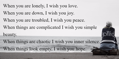 The Most Heartwarming My Wish For You Quotes Enkiquotes