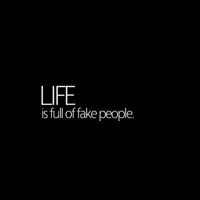 30 Best Quotes About Fake People Enkiquotes