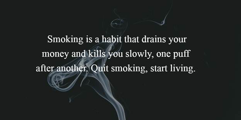 Smoking Quotes Custom 25 Quit Smoking Quotes To Give You A Reason  Enkiquotes